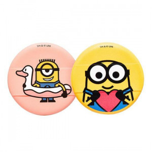 MINIONS Cushion Puff 2ea