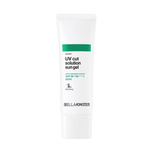 Bellamonster UV Cut Solution Sun Gel #Watermelon SPF50+ PA++++ 50ml