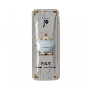 [S] The history of Whoo Myeonguihyang Secret Court Cream 1ml*10pcs