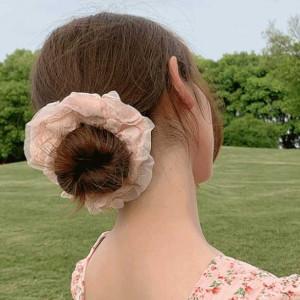 [R] Byladies Rose Chiffon Hair Band 2ea