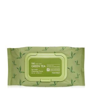 TONYMOLY The Chok Chok Green Tea No-Wash Cleansing Tissue 100pcs