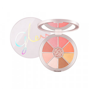Missha Glow 2 Color Filter Shadow Palette [No. 7 Coral Like Me] 11.5g