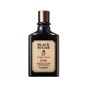 Skinfood Black Sugar Perfect Toner 2X for Men 180ml