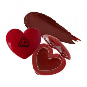 STYLENANDA 3CE Heart Pot Lip 1.4g #Brick Red