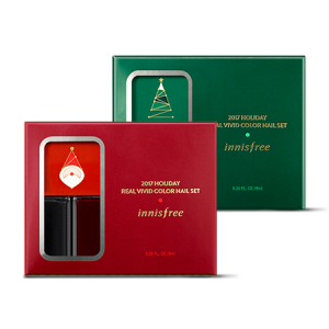 [E] Innisfree Holiday Real Vivid Color Nail Set [2017 Christmas]