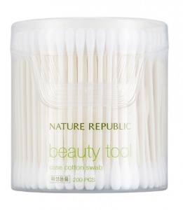 Nature Republic Beauty Tool Case Swabs 200ea