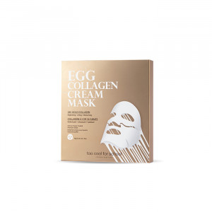 Too Cool For School Egg Collagen Cream Mask Set 12g*5ea