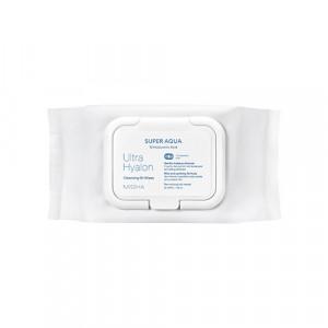 Missha Super aqua ultra hyalron Cleansing Oil Tissue 30sheets/ 158ml