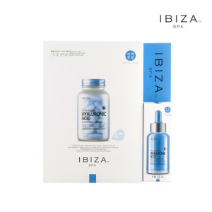 IBIZA SPA Whitening Effect Hyaluronic Acide Mask + Ampule