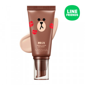 MISSHA (Line Friends Edition) perfect cover BB cream SPF42 PA+++ 50ml