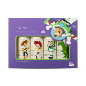 Innisfree [Innisfree X Toy Story] My Perfumed Body Miniature Set 60ml*4ea