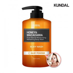 Kundal Honey & Macadamia Pure Natural Moisturizing Refreshing Body Wash 500ml