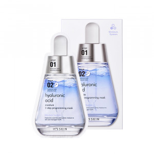 IT'S SKIN Hyaluronic Acid Moisture 2-Step Programming Mask (1.5ml+28g)*10EA