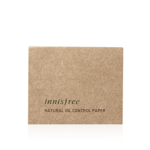 Innisfree Beauty Natural Oil Control Paper 1pack (50pcs)