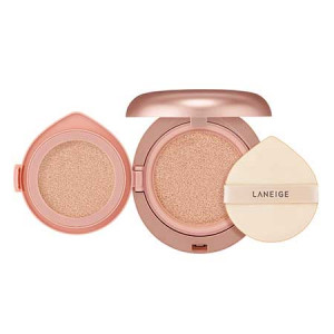 Laneige Layering Cover Cushion SPF34 PA++ 16.5g (14g+2.5g) Refill
