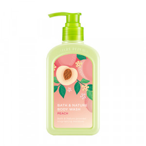 Nature Republic Bath & Nature Peach Body Wash 250ml [Online]