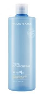 Nature Republic Real Comforting Hyaluronic Acid Water Toner 400ml