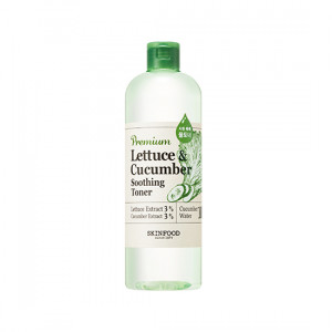 Skinfood Premium Lettuce And Cucumber Soothing Toner (Large LTD) 500ml