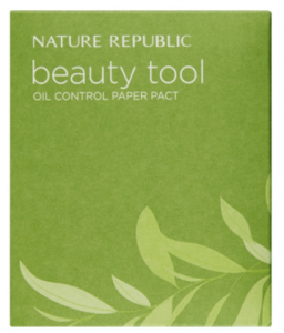 Nature Republic Beauty Tool Oil Control Paper Pact 50ea (Refill)