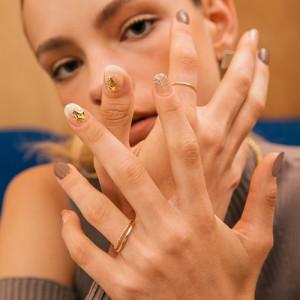 ohora N Champagne Nails 1Set