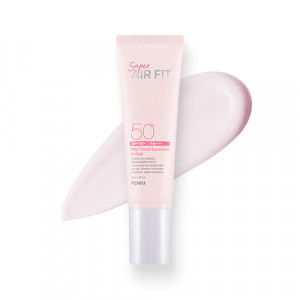 A'PIEU Super Air Fit Mild Sun Base [Pink] SPF50+ PA+++ 50ml