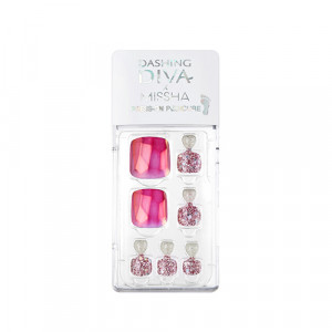 Missha x Dashing Diva Magic Press Pedicure 1set