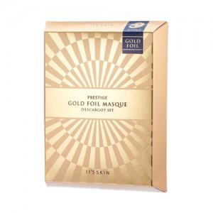 IT'S SKIN Prestige Gold Foil Masque D'escargot 33ml*5ea