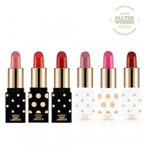 The Face Shop Holiday Joyfull Mini Lipstick Kit 1.3g*3ea