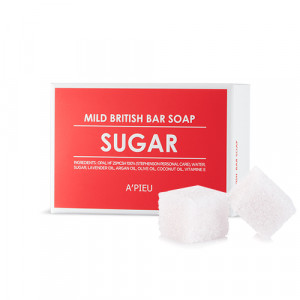 APIEU Mild British Bar Soap - Sugar 100g