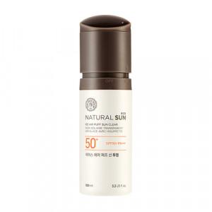 The Face Shop Natural Sun Eco Ice Air Puff Sun Clear SPF50+ PA+++ 100ml