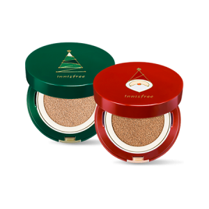 Innisfree Holiday Reset Cushion Special Set [2017 Christmas] 14g*2