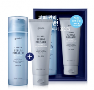 GOODAL Men Sebum Breaker All In One Set (For medium-dry Skin) 150ml*100ml
