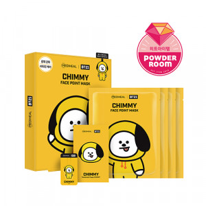 MEDIHEAL x BT21 CHIMMY Face Point Mask 20ml*4ea