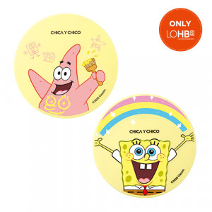 Chica Y Chico  [SPONGEBOB LTD] One Happy Think Layer Cover Cushion 11g