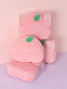 PeachC Peach Pouch Bag