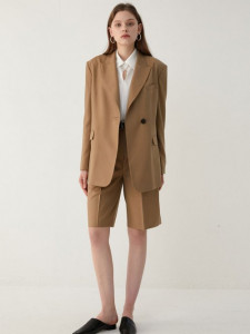 [R] Musinsa LOEUVRE Back slit jacket 1pcs
