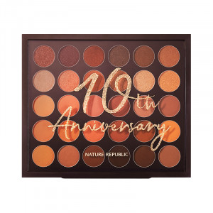 Nature Republic [10th Anniversary] Pro Touch Color Master Shadow Palette [Online] 14g