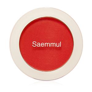 THE SAEM Saemmul Single Blusher 5g [#RD04 Carot Red]