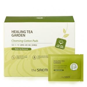 The Saem Healing Tea Garden Cleansing Cotton Pads 30sheet