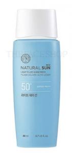 The Face Shop Natural Sun Eco Light Water Sun Cream SPF50+ PA+++ 80ml