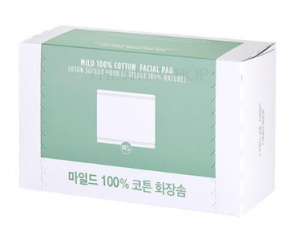 The Face Shop Daily Beauty Tools Mild 100% Cotton Facial Pad 80ea