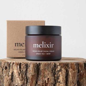 [R] melixir Vegan Relief Facial Cream Green Tea + Hemp 80ml