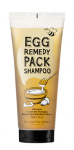 Too Cool For School Egg Remedy Hair Pack Shampoo 200g