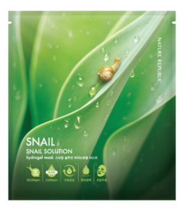 Nature Republic Snail solution Hydrogel mask 25g