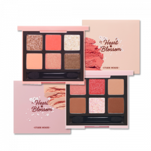 Etude House [2020 S/S Heart Blossom Collection] Play Color Eyes Heart Blossom 0.7g*6