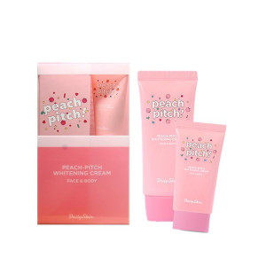 DailySkin Peach Pitch Whitening Cream 70ml+15ml