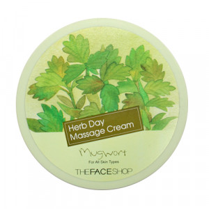The Face Shop Herb Day Massage Cream 150ml No.Mugwort