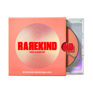 Rarekind Mini Album 1ST Mix And High 28g/29g
