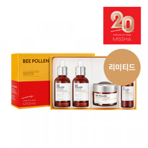 Missha [Limited] Bee Pollen Renew 20th Anniversary Set