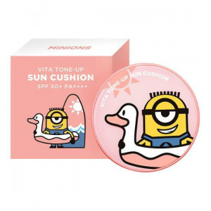 MINIONS Vita Tone Up Sun Cushion SPF50+ PA++++ 15g